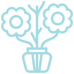 An icon depicting some flowers.